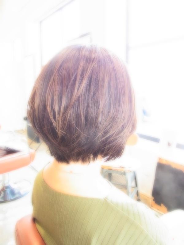 ボンジュール☆フェミカジュアルSHORT☆BOB☆ヘアスタイル☆