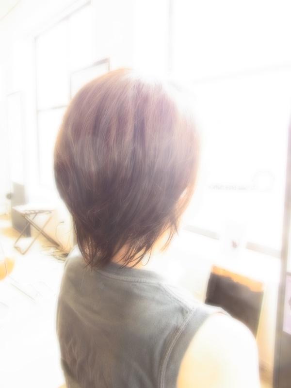 ボンジュール!フェミカジュアルミディアムSHORT☆ヘアスタイル☆