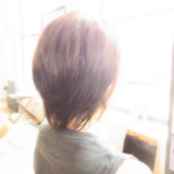 スタイリング簡単プレミアムスーパーカット☆☆☆☆☆&ミディアムSHORT☆ヘアスタイル☆