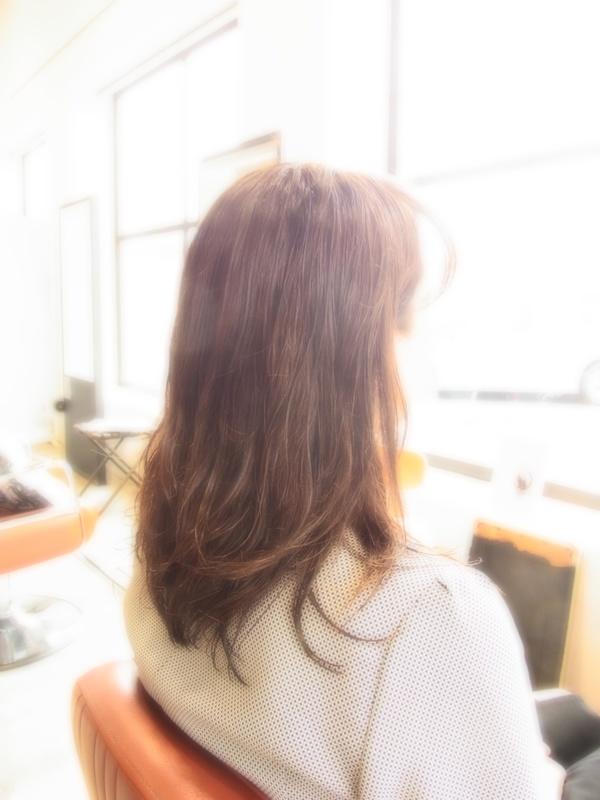 スタイリング簡単プレミアムスーパーカット☆☆☆☆☆&フェミカジュアルセミロング☆ヘアスタイル☆のサムネイル