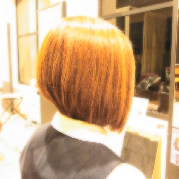 スタイリング簡単プレミアムスーパーカット☆☆☆☆☆&前下がりBOB☆ヘアスタイル☆