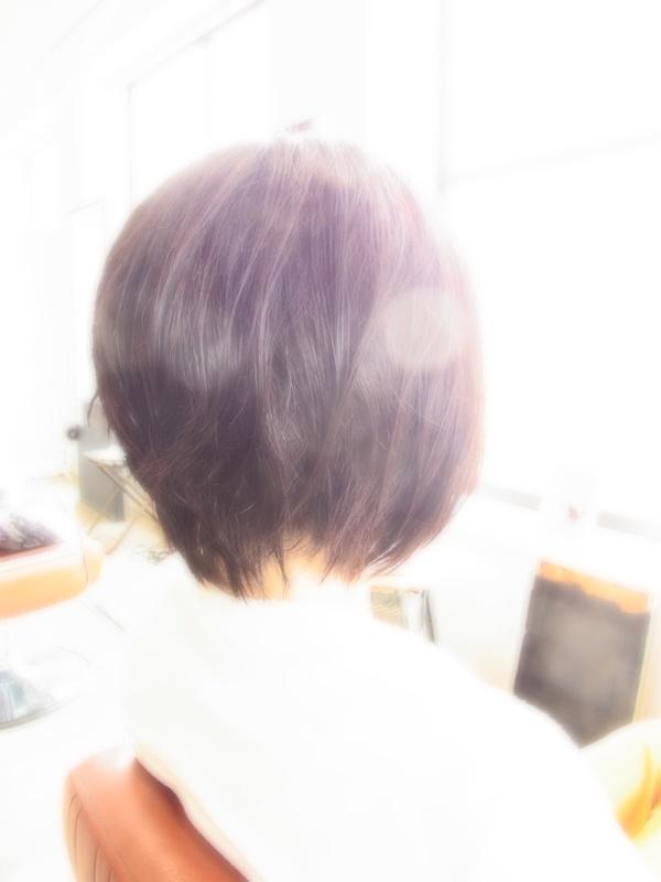 ボンジュール☆フェミカジュアルミディアムBOB☆ヘアスタイル☆