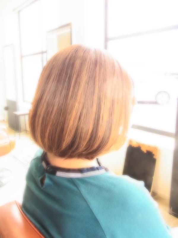 ボンジュール☆フェミカジュアルBOB☆ヘアスタイル☆